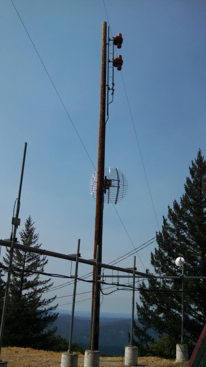 KZYZ Antenna at Laughlin Ridge