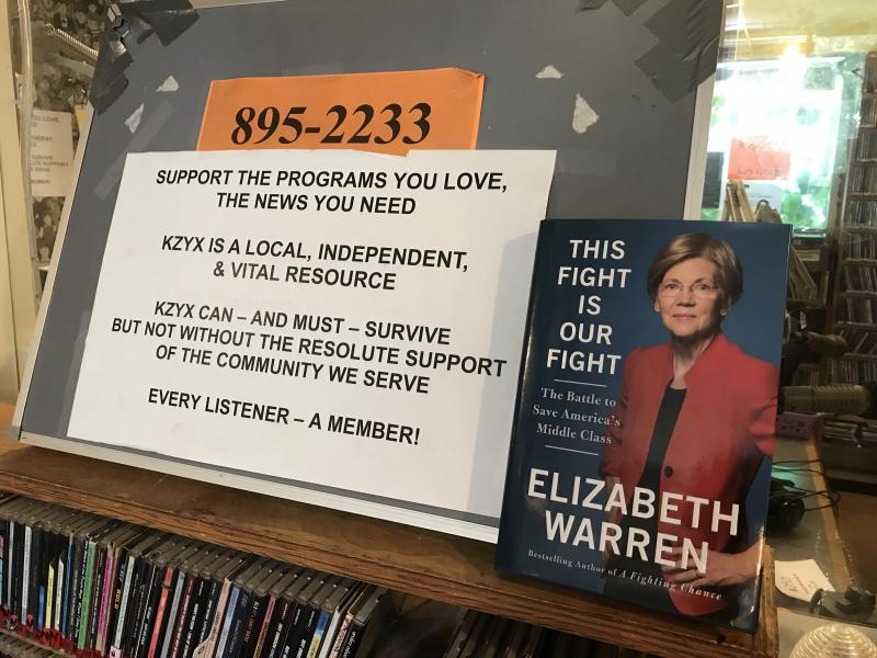 "KZYX Pledge Drive Thank You Gift: ""This Fight Is Our Fight,"" by Elizabeth Warren"
