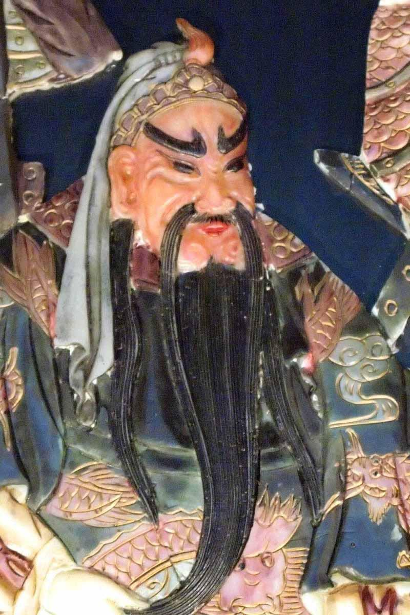 An image of the deity, Kwan Tai