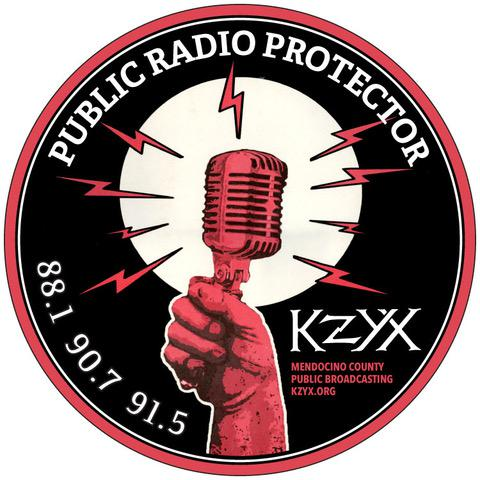 Do you like our new Public Radio Protector sticker?