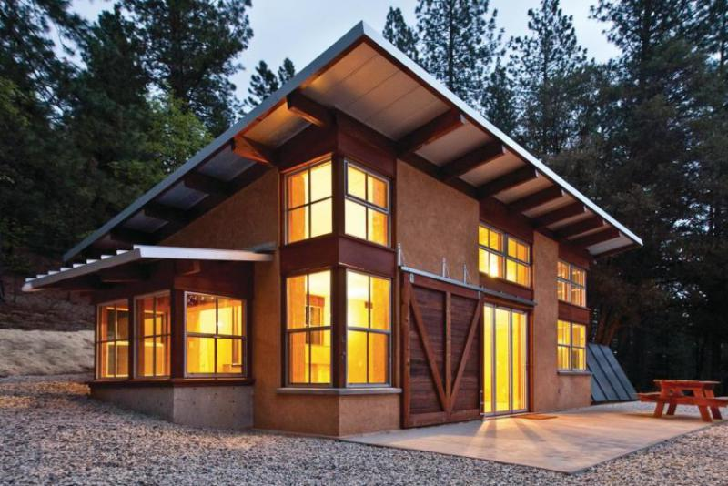 One of David Arkin's green homes