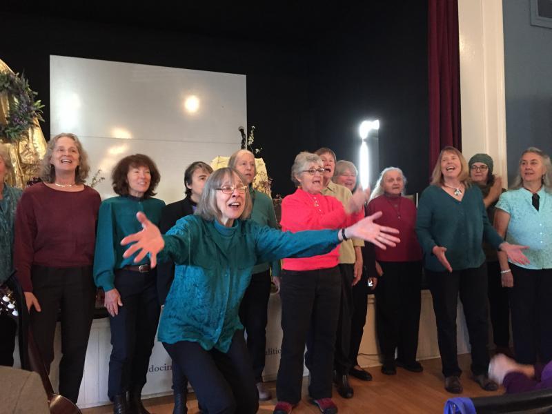 The Inland Valley Women's Chorus
