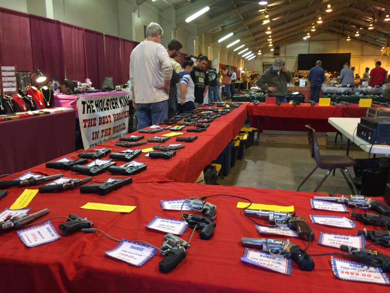 Tables of hand guns