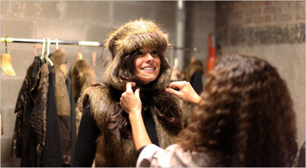 """Righteous Furs: """"Save Our Wetlands. Wear more nutria."""""""