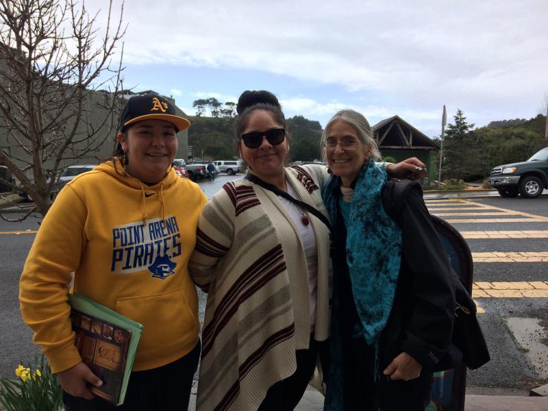 Bernadette's Cousin, Bernadette, and Kim Bancroft