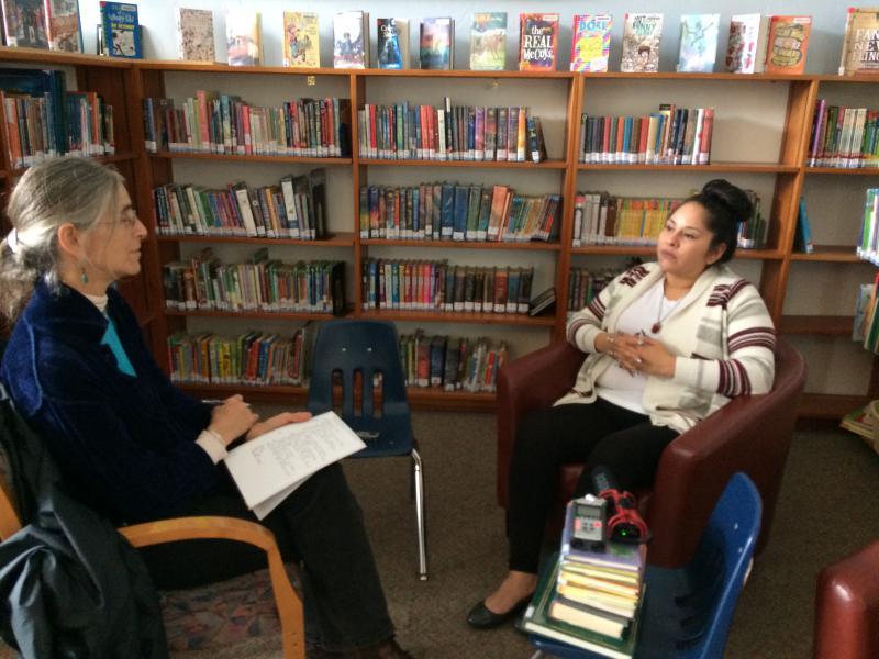Author Kim Bancroft Interviewing Bernadette Smith