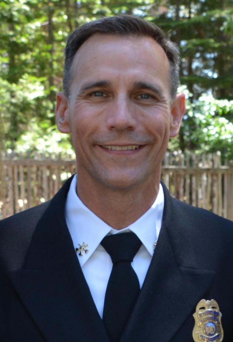 Calfire Forester Chris Anthony
