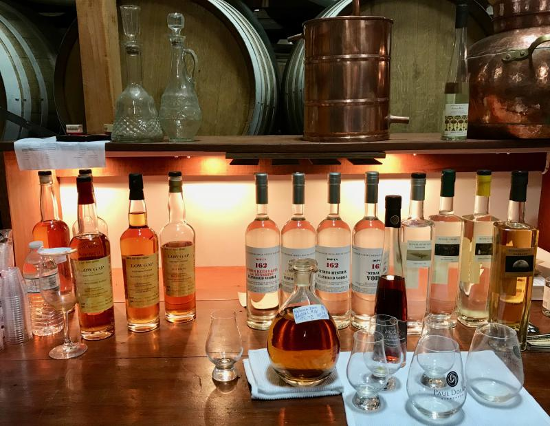 American Craft Whiskey Distillery produces a range of hand-crafted distilled spirits