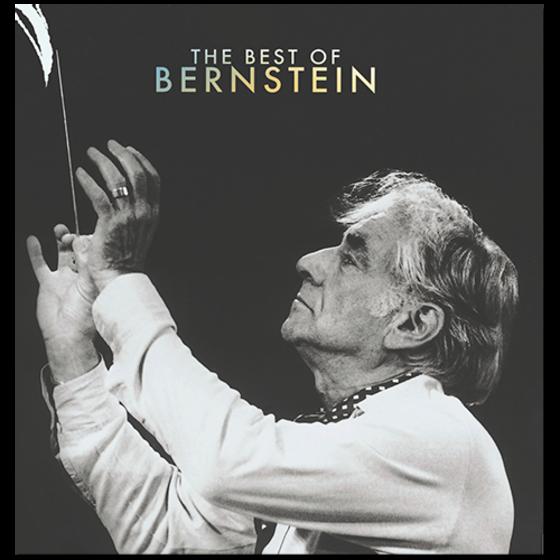 Leonard Bernstein, The Best of Bernstein, 2018, 3CD ($120 Donation)