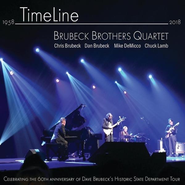 Brubeck Brothers Quartet, Timeline, 2018 ($100 Donation)