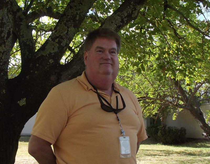 Kort Pettersen, president of SEIU 1021 Mendocino Local.