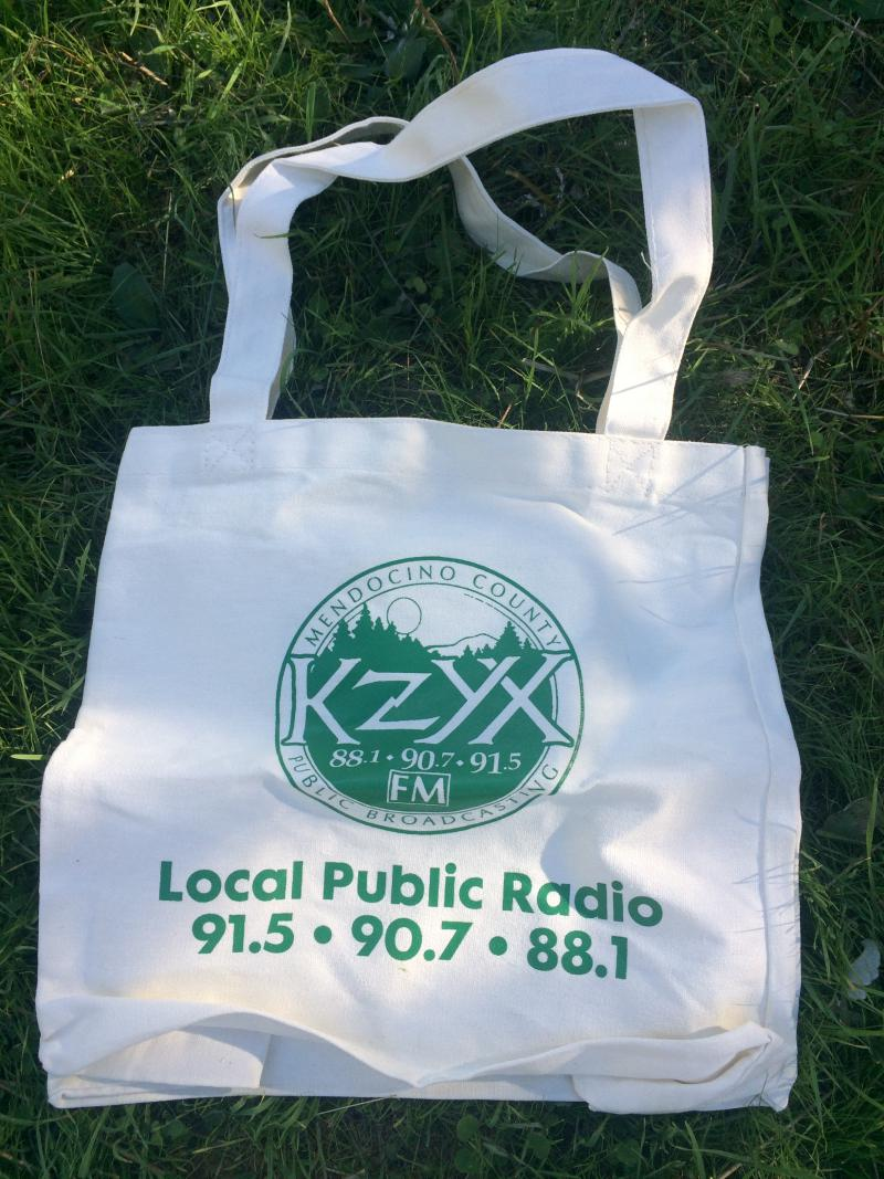 KZYX Canvas Grocery Bag ($80 Donation)