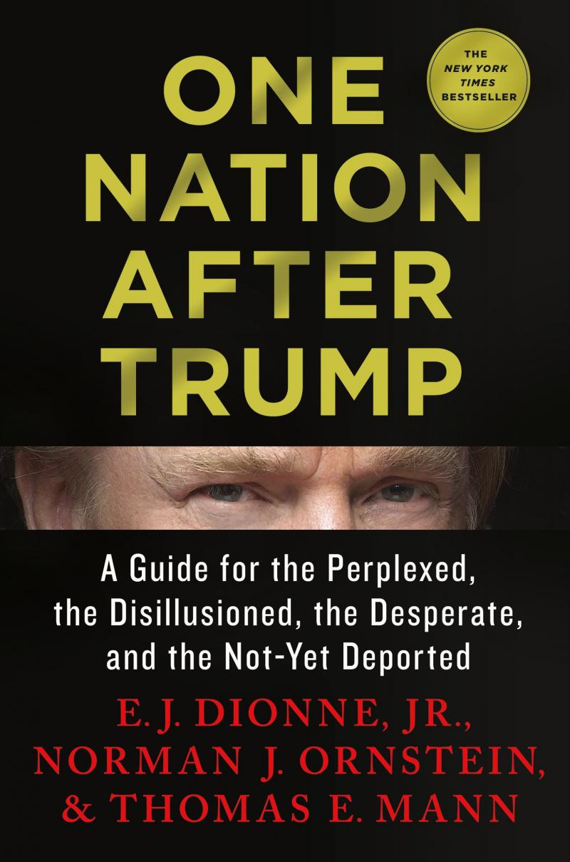 E.J. Dionne Jr., Norman J. Ornstein, Thomas E. Mann, One Nation After Trump: A Guide for the Perplexed, the Disillusioned, the Desperate, and the Not-Yet Deported, 2017 ($150 Donation)