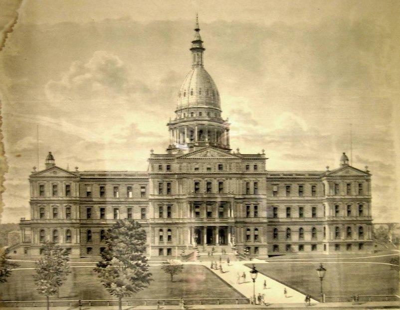 "The ""golden era"" of state capitol building | Michigan Radio"