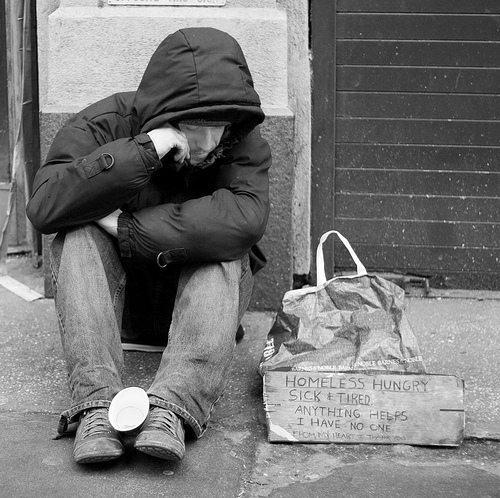 What do you assume when you see someone young and homeless ...