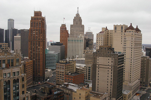 Gilbert Owns Downtown Detroit But Who Owns The Most Private Land In The Whole City Michigan