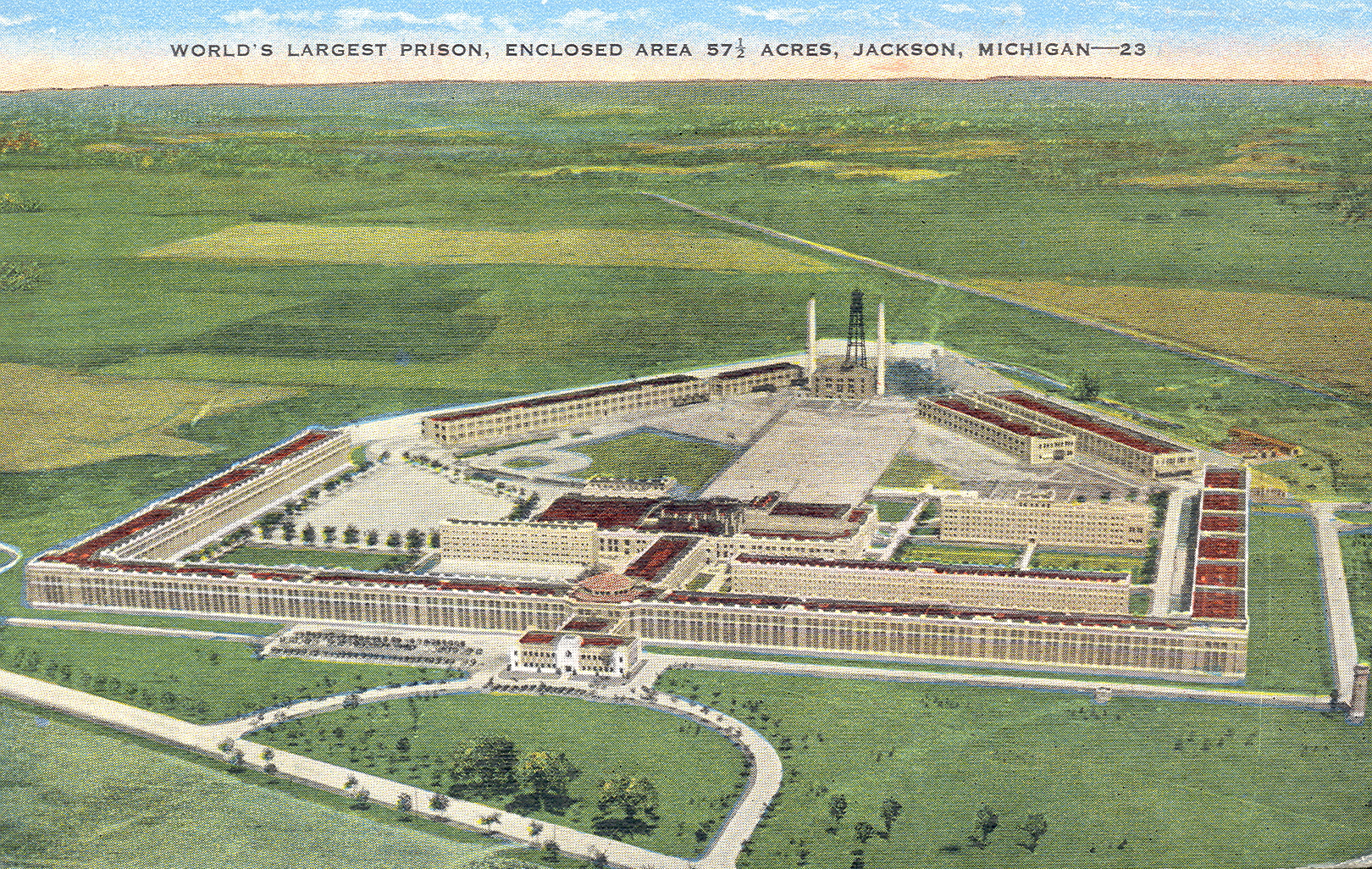 Michigan State Prison 171 Every County