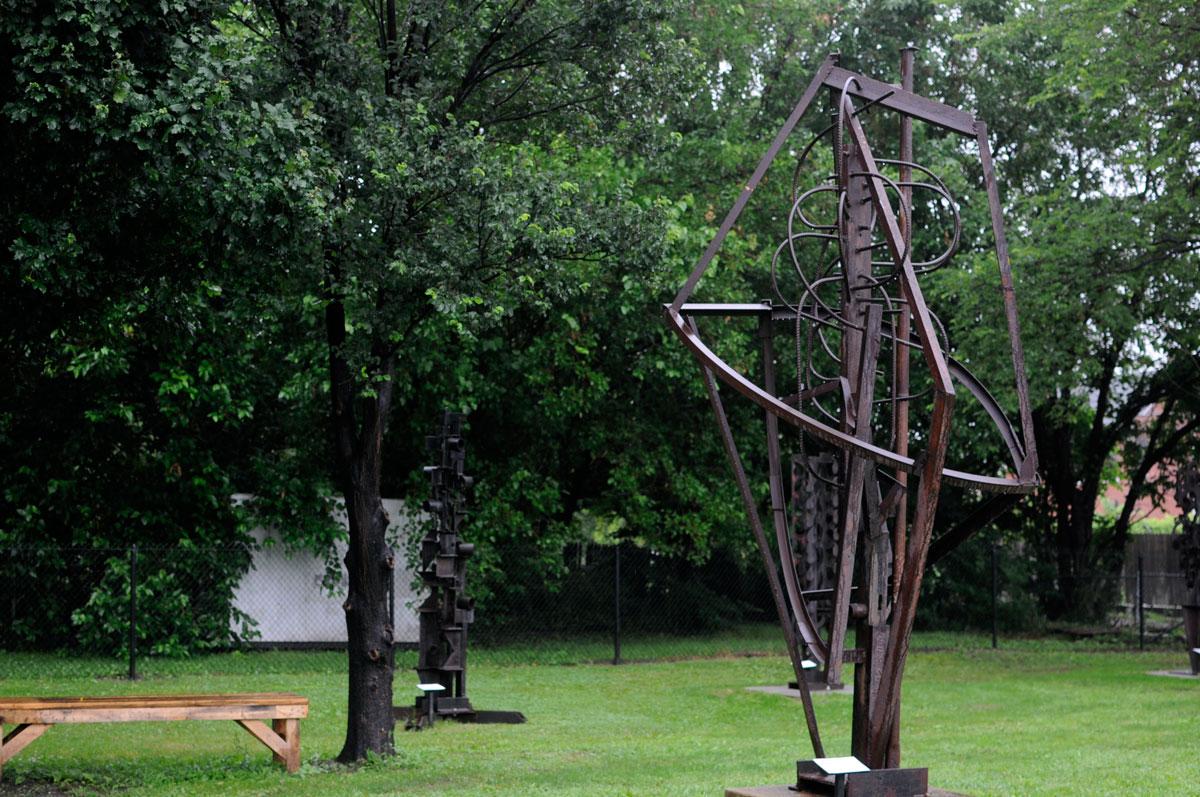 Cass Corridor Artist Robert Sestok Opens Sculpture Park On