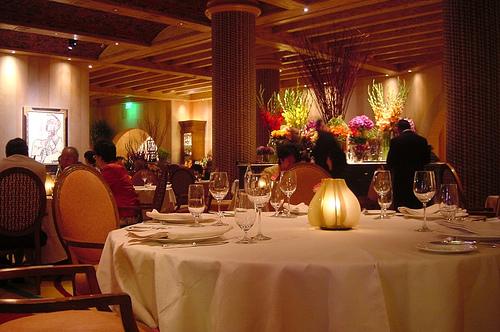 The Surprising History Of The Restaurant Menu Michigan Radio - Fancy restaurant table
