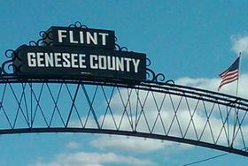 sign in Flint, Michigan