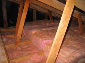 Attic insulation