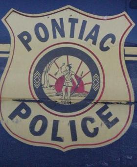 Poniac Polic car door