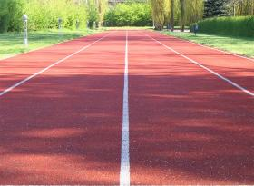 Running track