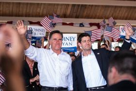 Mitt Romney&#039;s presidential campaign is hoping a visit from VP candidate Paul Ryan will put pressure on the Obama campaign in Michigan. 