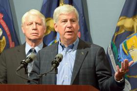 Michigan Gov. Rick Snyder.