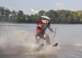 A Carp Hunter in action near Peoria, IL.