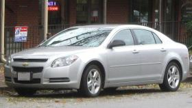 A 2008-2010 Chevy Malibu. One of the models being recalled by GM.