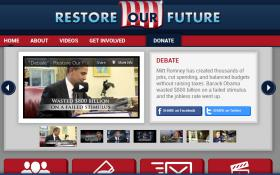 The Super PAC Restore Our Future and other groups have spent about $13 million for ads since February.