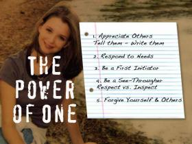 Operation Kindness was inspired by the anti-bullying program Rachel's Challenge.