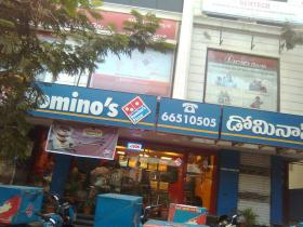 A Domino's Pizza outlet in India
