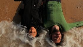 Image from the Palestinian film, Habibi Rasak Kharban (Darling, Something's Wrong with Your Head)