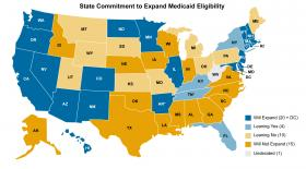 The state of Medicaid expansion in the U.S. (last updated May 2, 2013)