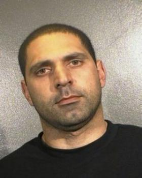 Booking photo of stabbing suspect Elias Abuelazam