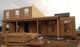 A home being built in Norfolk, VA