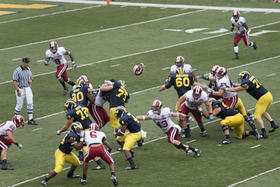 Indiana Michigan football game