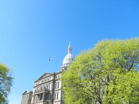 Michigan's State Capitol in Lansing.