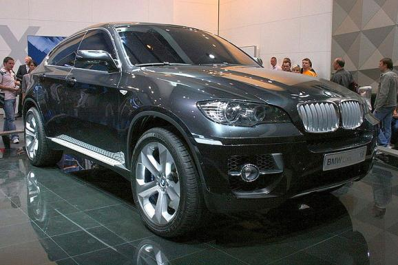 The BMW X6