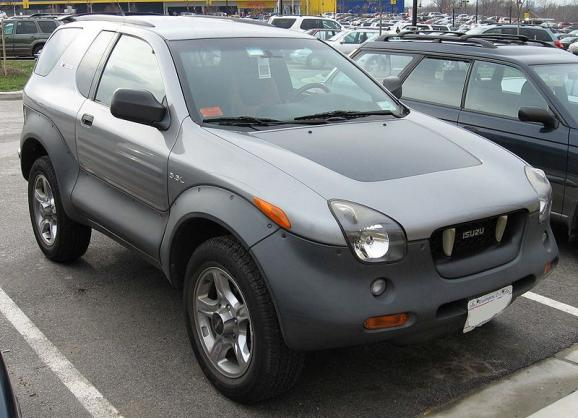 The Isuzu VehiCross