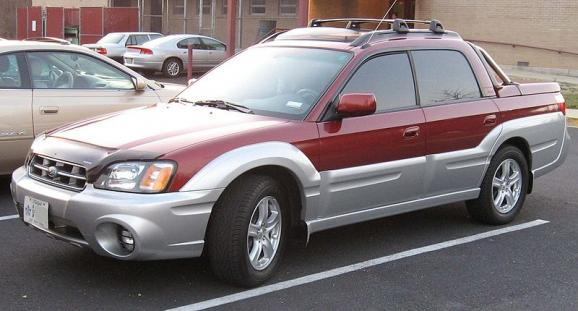 The Subaru Baja
