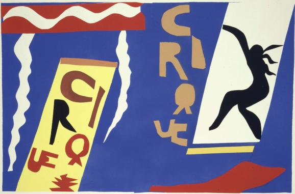 Matisse - Circus, 1943