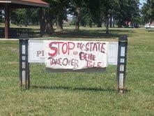 Some Detroiters have expressed their displeasure with the Belle Isle plan.