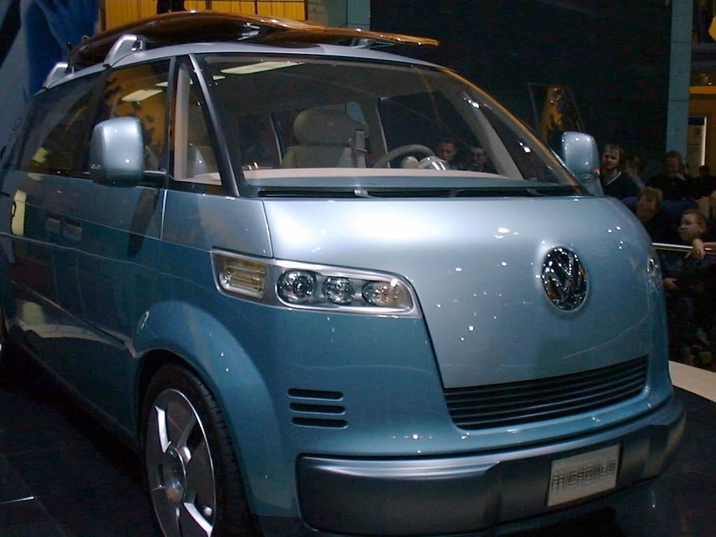 VW's Microbus concept in 2001.