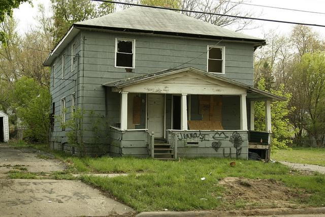 Abandoned house in Flint, MI