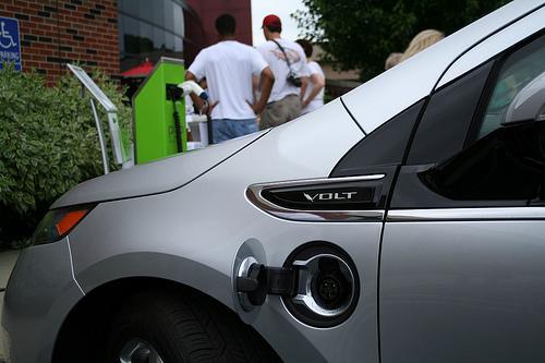 Chevy Volt's plug receptacle
