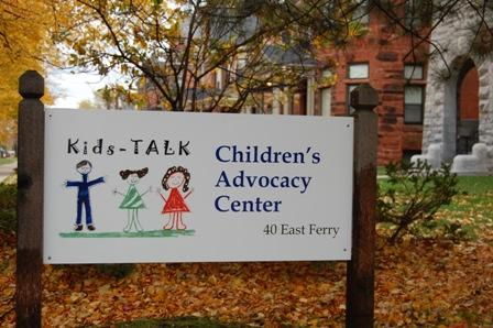 Kids-TALK sign