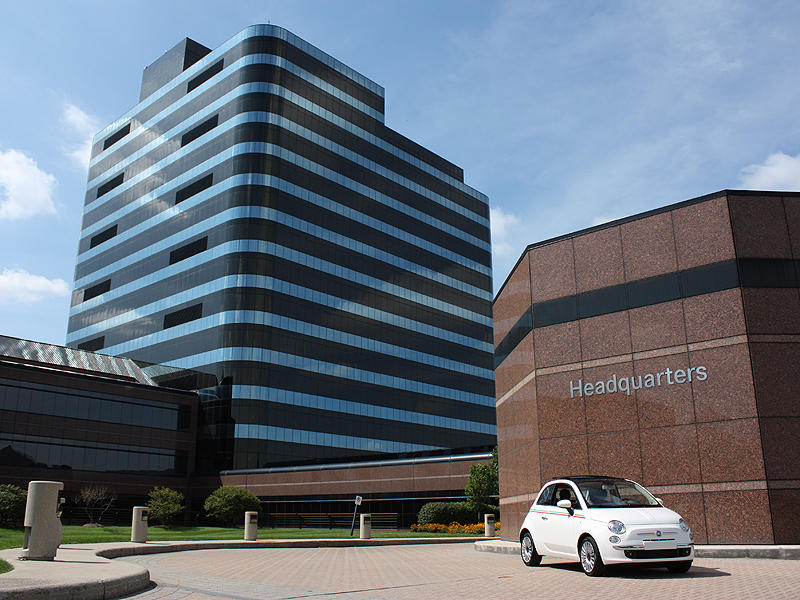 Chrysler headquarters in Auburn Hills, Michigan